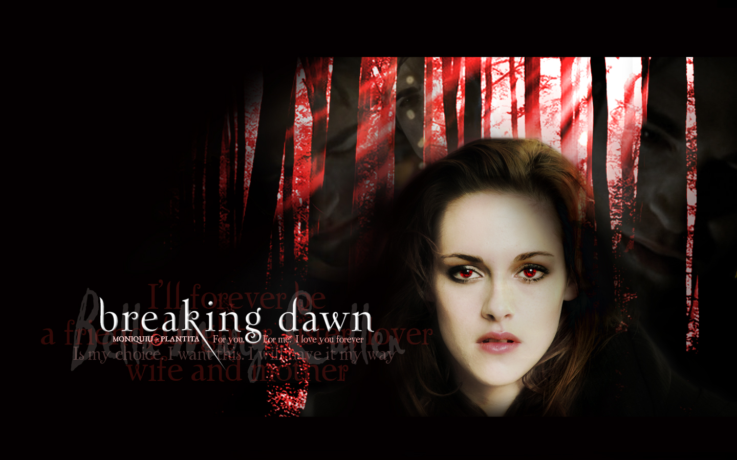 Breaking Dawn - Bella Cullen by Moniquiu