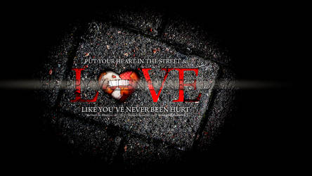 Love like u have never been hurt by Moniquiu