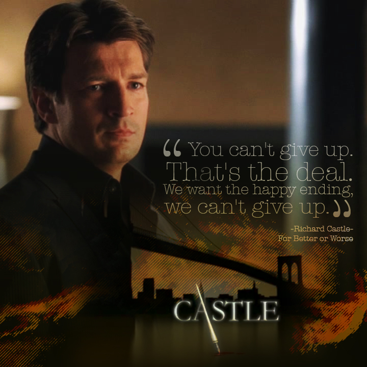 Richard Castle, For Better Or Worse by Moniquiu
