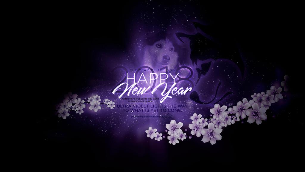 Happy New Year 2018 by Moniquiu