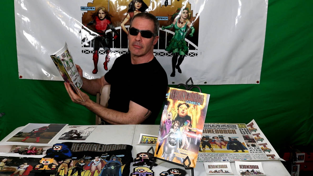 Where to buy Heroineburgh Comics #1....with Drake!
