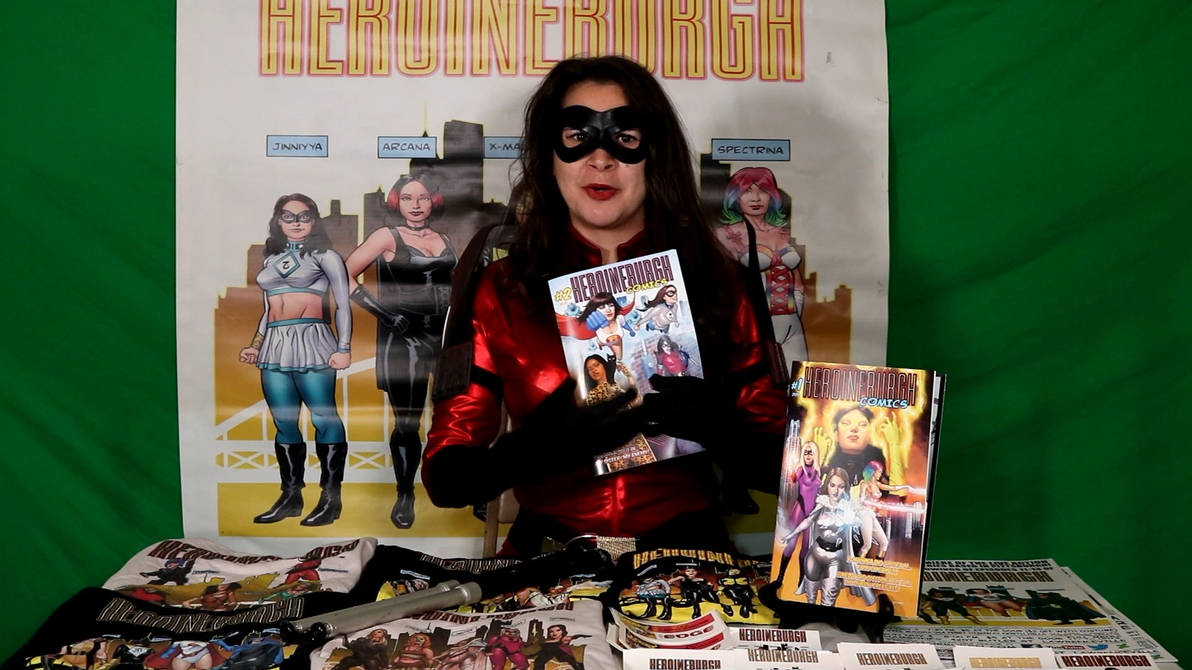 Where to buy Heroineburgh Comics #2.. w/ Vendetta!