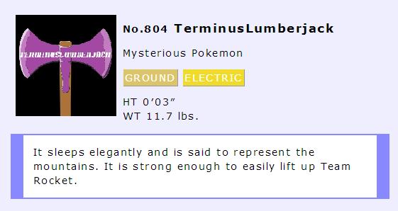 Terminus Pokemon by millenniumsmuggler