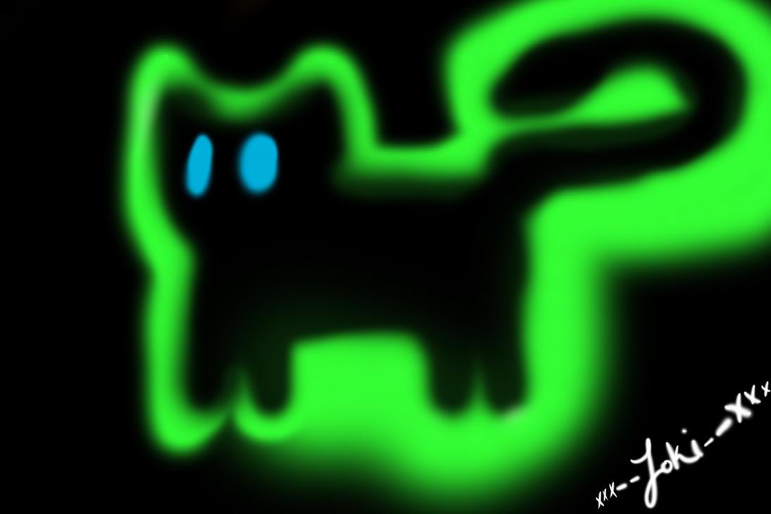 Ghost Cat by xXx--Loki--xXx