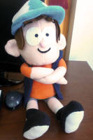 Dipper plush - Gravity Falls by DarkKobato