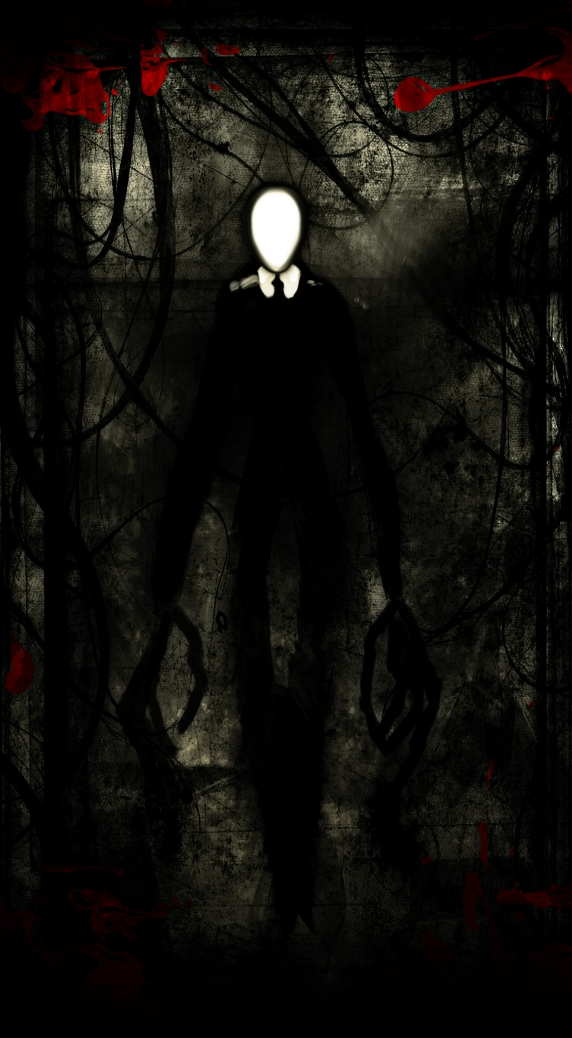 Slenderman by TheBlackNotebook