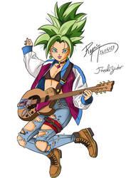 Kefla Super Saiyan 1/2 -  Rock n Roll by Referson