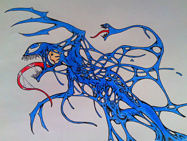 Symbiote MALICE' s RAGE by espen86