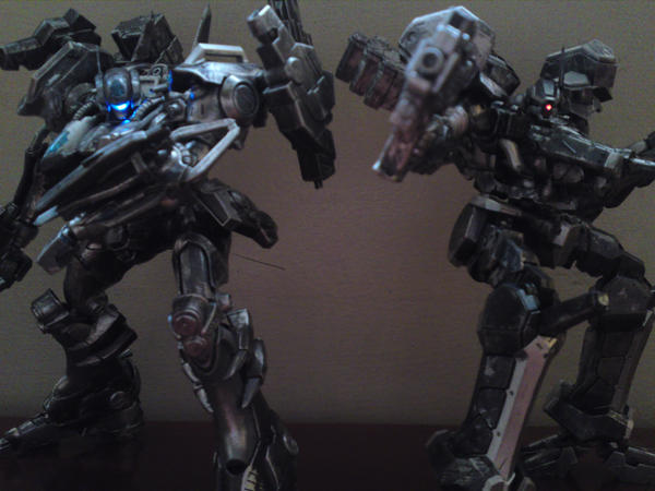 armored core crest vs mirage by espen86