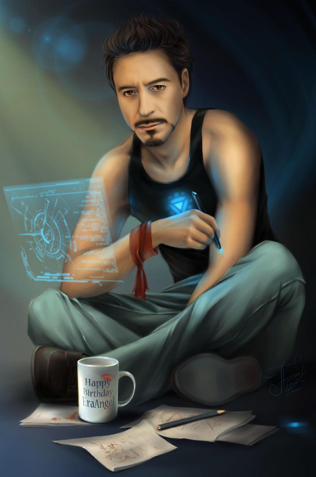 Tony Stark for Era Angel by Ariata