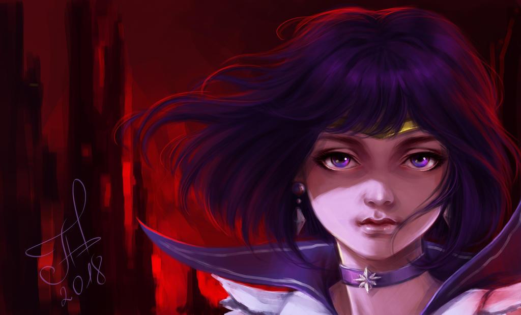 Sailor Saturn by Ariata