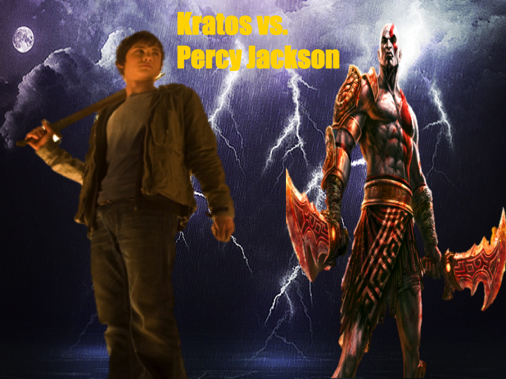 kratos vs percy jackson by tlfrurrlockawesome on deviantart