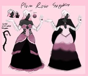 Plum Rose Sapphire Custom by gayadopts2k19