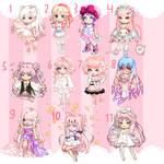 OPEN OTA Pastel Pink Gaia Adopts by gayadopts2k19