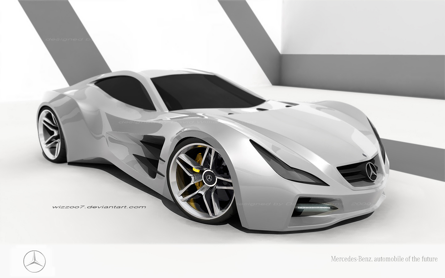 Concept Mercedes 500slr By Wizzoo7 On Deviantart
