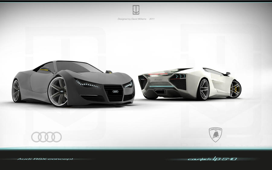 Audi vs Lamborghini by wizzoo7