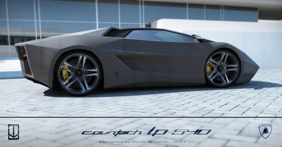 Lamborghini Countach lp540 by wizzoo7