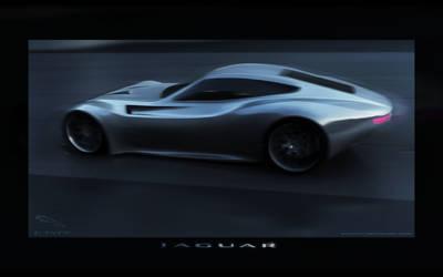 Jaguar E type retro 2012 by wizzoo7