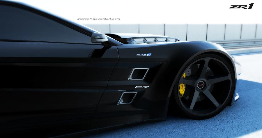 ZR1 corvette concept by wizzoo7