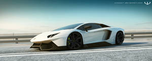 Aventador J coupe by wizzoo7