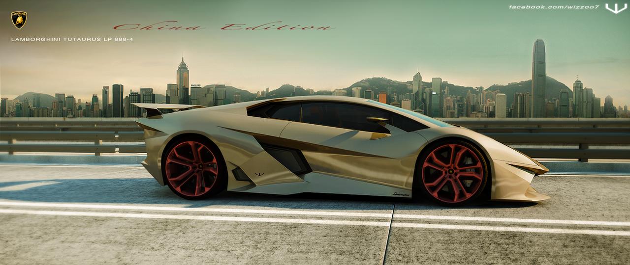 Lamborghini Tutaurus LP888-4 by wizzoo7