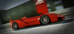 Ferrari FXX by wizzoo7