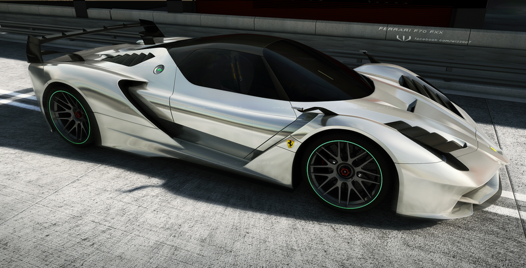 Ferrari FXX concept by wizzoo7