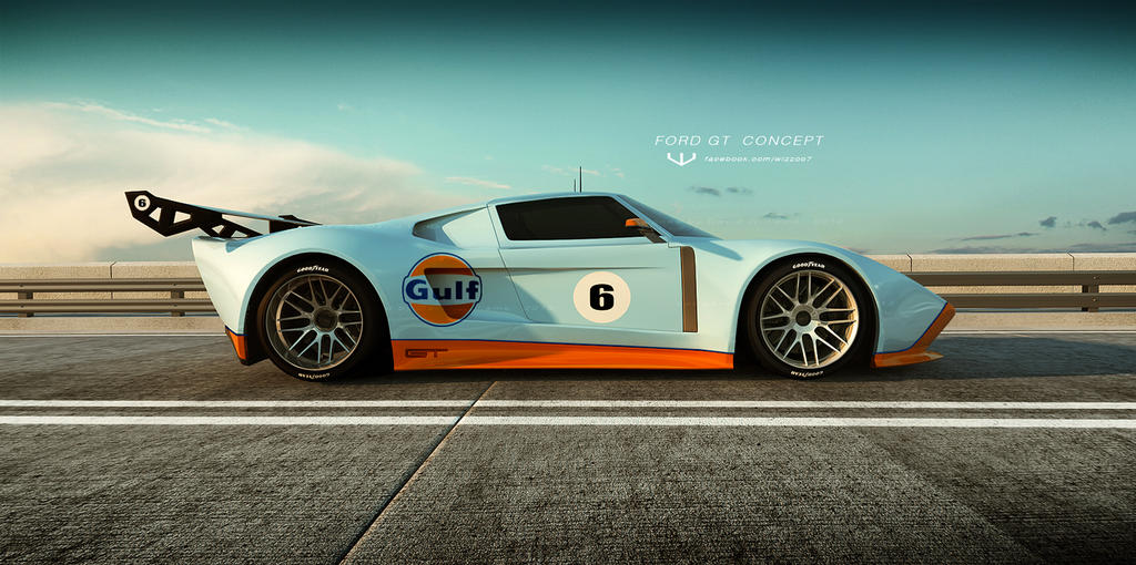 FORD GT concept by wizzoo7 on DeviantArt
