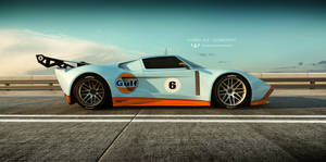 FORD GT concept by wizzoo7