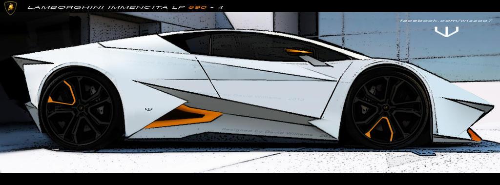 Lamborghini Immencita LP 590-4 by wizzoo7