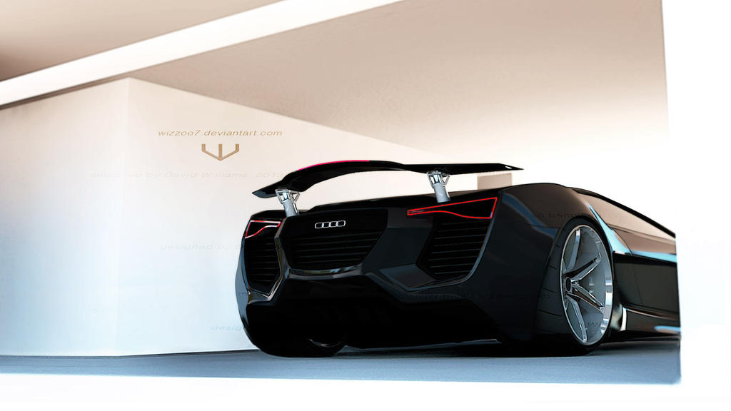 Audi X-Quattro concept by wizzoo7