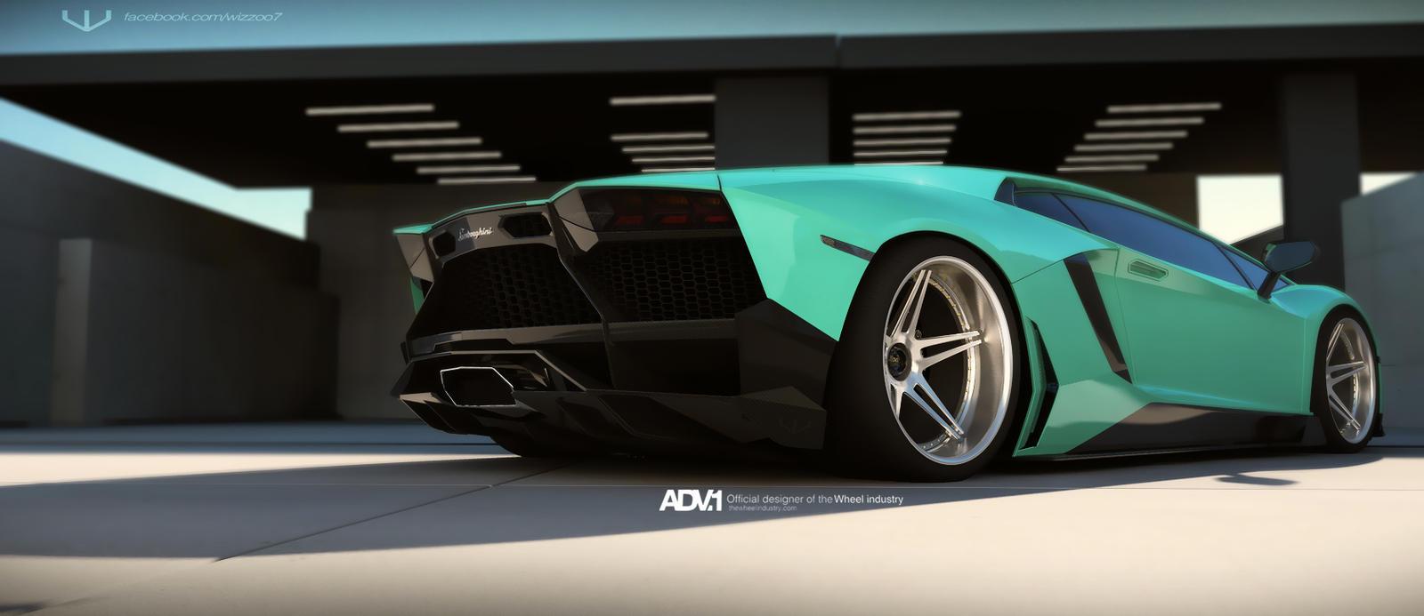 Lamborghini Aventador Spyder >> Aventador ADV.1 05 by wizzoo7 on DeviantArt