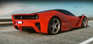Ferrari 70th Anniversary concept