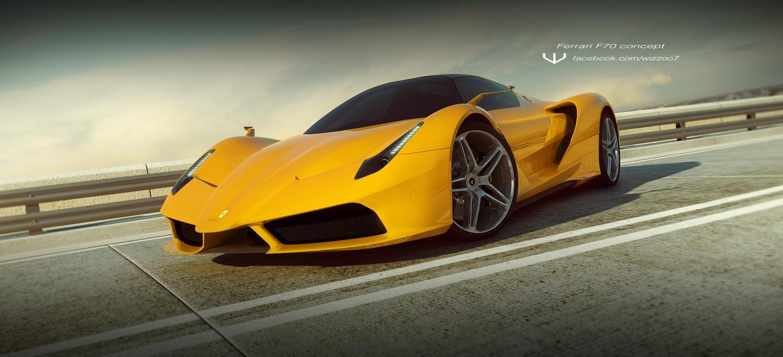 Ferrari F70 by wizzoo7