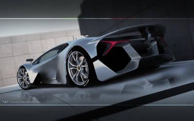 Lamborghini Avaorano concept by wizzoo7