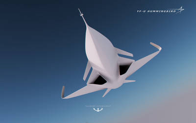 YF-U Hummingbird by wizzoo7