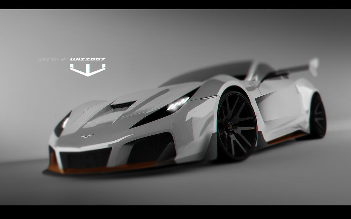 Corvette concept by wizzoo7