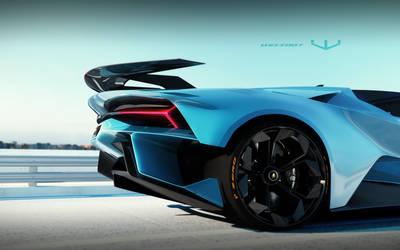 Lamborghini Centaurus roadster