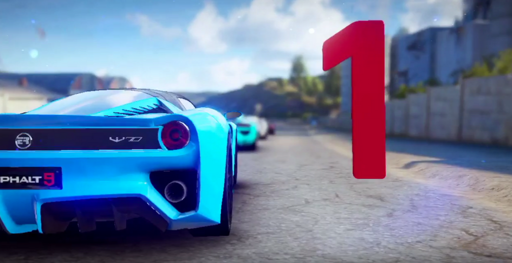 Asphalt 9 debut by wizzoo7