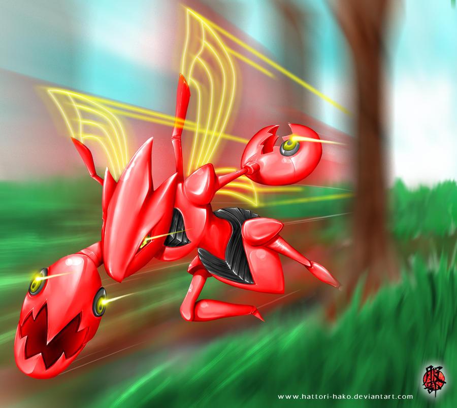 My Quest across the Shoda Region! Pokemon___scizor_by_hattori_hako-d37mxd0