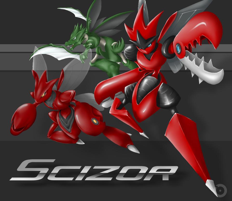 Pokemon - Mega Scizor ...
