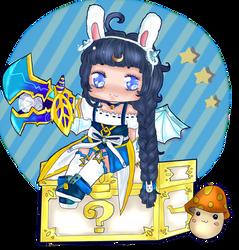 Mapleize me challenge: Angelic Buster Mun! by xLunarElf
