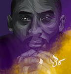 Kobe Bryant illustration Baris Ozturk