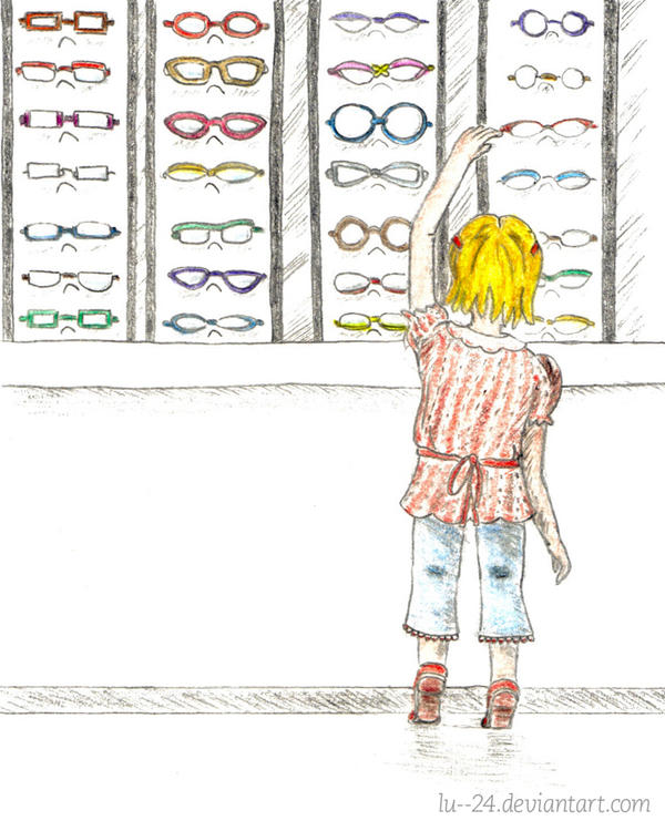 Looking for eyeglasses [IF] by lu--24