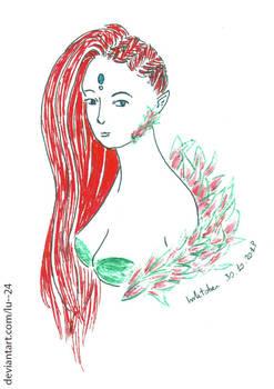 Draw This in Inktober 2018 - 30.10 - serafleur
