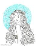 Draw This in Inktober 2018 - 31.10 - Pirategirl28 by lu--24