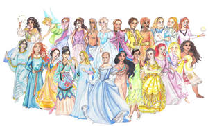 History's Disney Princesses