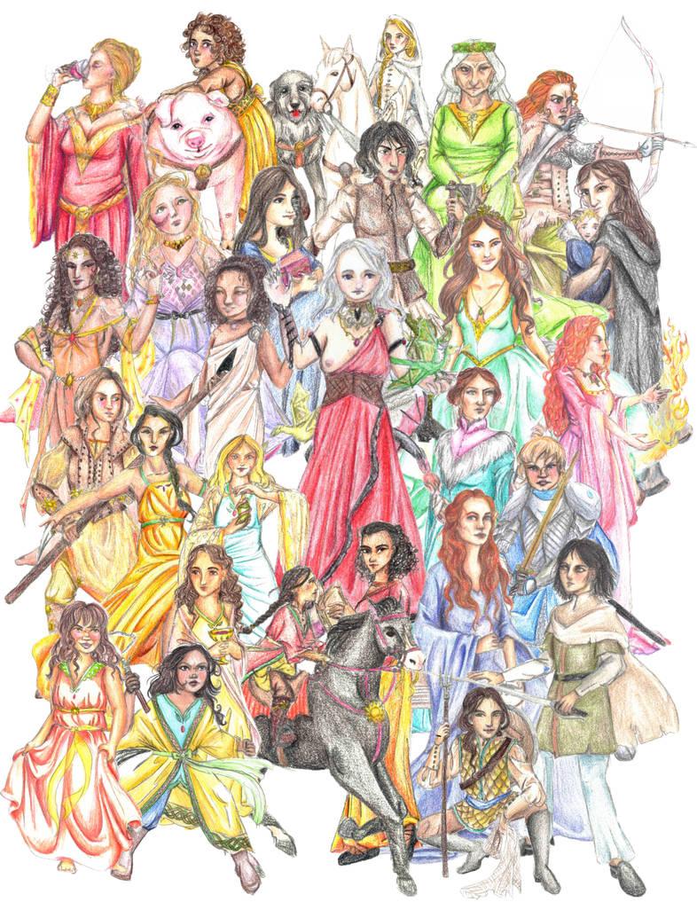 ASoIaF heroines
