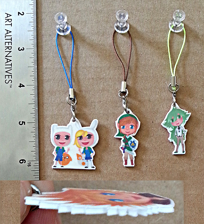 Finished Keychains by Cristinaart80