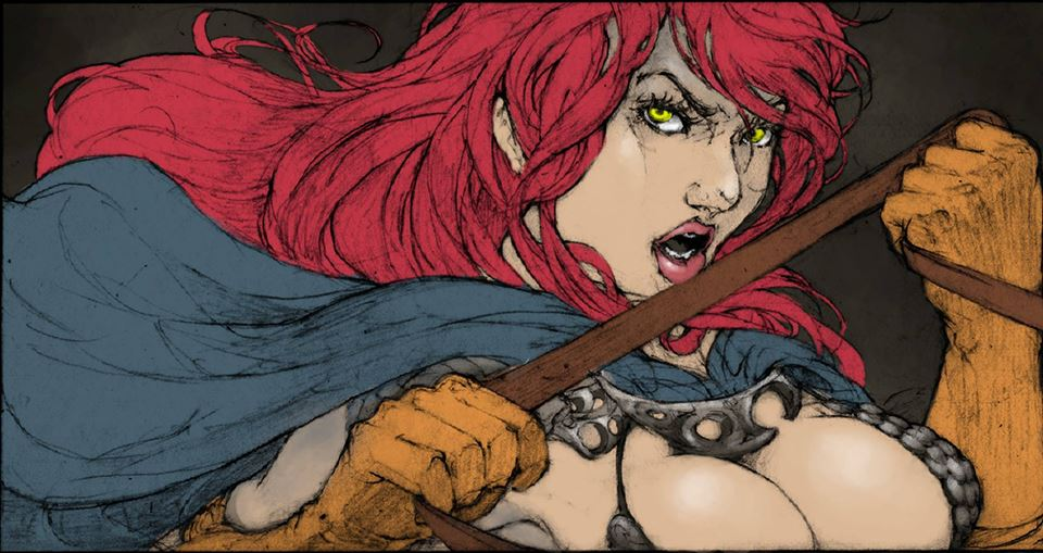 Red Sonja by mikeroro